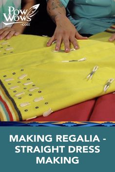 Watch this tutorial video to learn how to make your own dress!