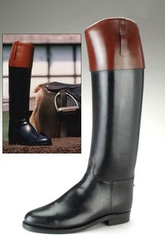 """My """"if I was as rich as Mitt Romney"""" dream boots. Men's Equestrian, Equestrian Outfits, The Little Prince Costume, Shoe Boutique, Leather Riding Boots, Dress With Boots, Classic Leather, Tall Boots, Types Of Shoes"""