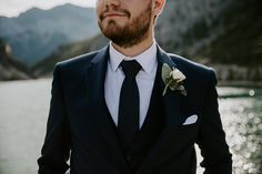 Navy suit for groom. Wedding Couples, Our Wedding, Turtle Bay Resort, Creative Grooming, Disney Couples, Groom Attire, Groom Style, First Night, Wedding Details