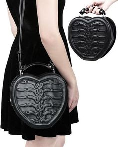 Professioneller Verkauf Messenger-bag Runic Cross 25 X 19 Cm Schwarz Koffer, Taschen & Accessoires