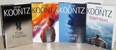 Odd Thomas Series (Volumes 1-4) by Dean Koontz, http://www.amazon.com/dp/B001O7ZWK6/ref=cm_sw_r_pi_dp_DqD5qb0N6VG7H