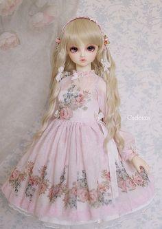 sweet classic lolita inspiration bjd doll