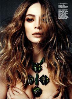 Allure Magazine - Whip it Good: Veranika Antsipava