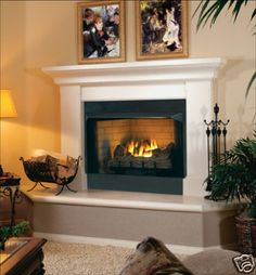 vent free gas fireplaces cttpb24nv logs insert ventless gas fireplace mantle - Gas Fireplace Ventless