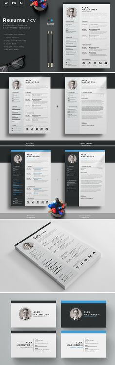 Trendy Resume format for professionals Suitable for all sort of - awesome resume templates free