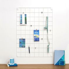 Wire Mesh Memo Board For The Office And Home By  Wire Mesh