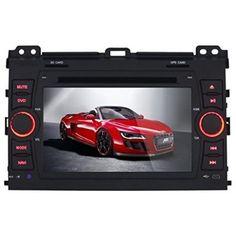 K-Navi 7 Inch 1024*600 Car Bluetooth DVD Player Multimedia GPS Navigation System Android for Toyota Prado 2008-2011 - For Sale