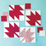 How to make a maple leaf quilt square - Canadian Living Quilting Tips, Quilting Tutorials, Machine Quilting, Quilting Projects, Quilting Designs, Patchwork Quilting, Sewing Projects, Fall Quilts, Boy Quilts