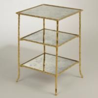 Square Acanthus Table - FT0087.BR.MI