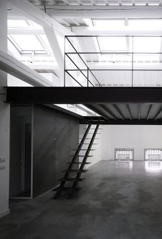 #architecture #design #interiors #modern #open spaces #stairs #loft #style