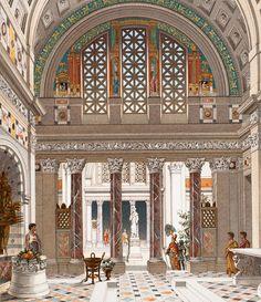Interior of a Roman Palace (1888)
