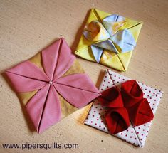 Fabric Origami | Flickr: Intercambio de fotos