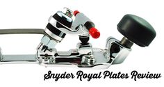 snyder royal plates review for roller derby from Skate Britain