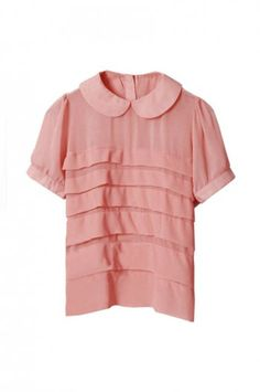I want every collared blouse in the world