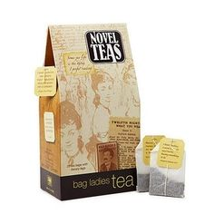 The perfect tea to sip while you read.