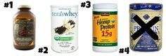 The Healthiest Protein Powders On the Market on http://foodbabe.com - Health Force Nutritional's Warrior Food Extreme, Tera's Organic Whey, Nutiva's Hemp Protein