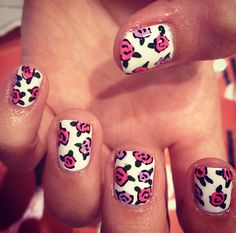 nail design flowers floral
