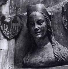 PARLER, Peter, Anna von Schweidnitz, 1379-86, Limestone, St Vitus Cathedral, Prague
