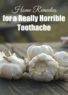 When you have the worst toothache ever and can't get it taken care of right away for whatever reason, these are the home remedies for toothaches that actually worked for me.