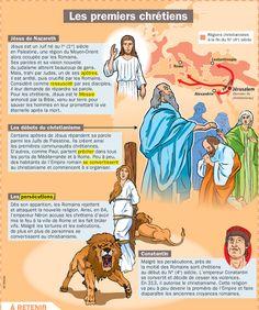 Fiche exposés : Les premiers chrétiens