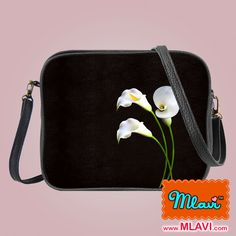 Flower collection by Malvi, made with vegan and Eco-friendly materials. This calla lily cross body bag has matching medium pouch, wristlet wallet and small pouch. Wholesale available at www.mlavi.com. Shop now at https://mlavi.ca/search?page=1&q=flower&type=product #flower #vegan #fashion #accessories #gift #wholesale #wallet #bag #purse #pouch #shopping