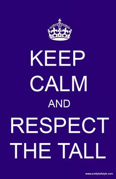 Wow you're so tall...Tell them to... tall women's fashion and life style blog #prettytallstyle