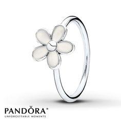 Pandora Ring Darling Daisy Sterling Silver so pretty ! Pandora Rings, Pandora Bracelets, Pandora Jewelry, Pandora Charms, Pandora Pandora, Charm Bracelets, Gemstone Jewelry, Diamond Jewelry, Diamond Pendant