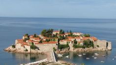 Ostrov sv. Štefana, Čierna Hora