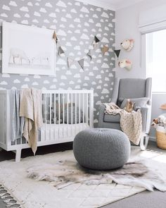 263 best gray and white nursery images in 2019 infant room child rh pinterest com  gray and white baby nursery ideas