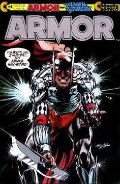Continuity Comics   Armor (1985) 1-A by Continuity Comics