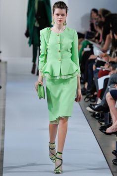 My favorite collection thus far: Oscar de la Renta's Resort '13.  He's brilliant.