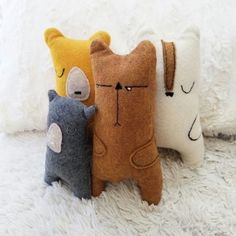 """The gang's all here! """"Cuddlers"""" are new and coming to Well Said Creations"""
