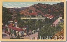 The Bird Park, Santa Catalina Island, California Vintage Postcards