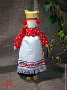 Народные куклы ручной работы. Ярмарка Мастеров - ручная работа Рябинка. Handmade.