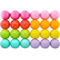 Eos!! I have strawbarry sorbat, blueberry, passion fruit, honeysuckle honeydue, vanila bean,tangerine, summer fruit, 2 sweet mint, and 2 pomagante rasberry! i have 11 EOS in all