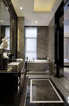 32 Ideas Master Bedroom Lighting Ideas Chandeliers Fireplaces For 2019 Home Staging, Bathroom Interior Design, Decor Interior Design, Interior Ideas, Wood Crown Molding, Design Rustique, Stone Interior, Hotel Decor, Contemporary Bedroom