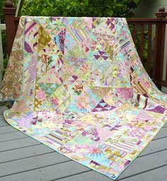 Busy Bee No. 16: Amy Butler Quilt . . . Birds in Air