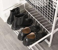Skohylle gir praktisk skooppbevaring. LEBA har mange løsninger for sko i garderobe! Shoe Rack, Shoes, Cloakroom Basin, Zapatos, Shoes Outlet, Shoe Closet, Shoe, Shoe Racks, Footwear