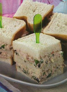En un #Picnic #Merienda o #ComidaRápida (#FastFood) ideal unos #Ricos #Sandwiches | #Sandwich #Emparedados #Sanduches ...
