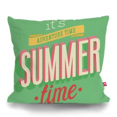 Cushion Cover SUMMER ADVENTURE by Sticky!!!