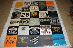 T-Shirt Quilting 1