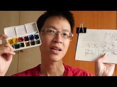 Watercolor sketch - YouTube