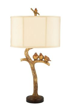 Sterling Industries Table Lamps Three Bird Light 93-052 Table Lamp In Brown Brown