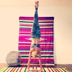 I can't wait to fix up my little yoga place once my room gets finished:)