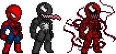 Spider-Man Sprites by ~BLZofOZZ on deviantART