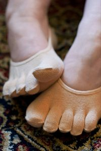 Toe socks for flats...No more slipping off! MUST HAVE!
