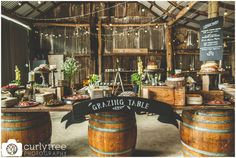 Im totally in love with this grazing table. Love the styling and graphics. Jess please replicate out the front of barn after ceremony?