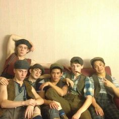 Newsies musical cast