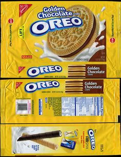 Nabisco packages | Nabisco - Oreo Golden Chocolate Creme cookie package - 2009 | Flickr ...