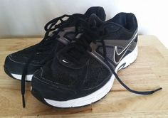 Men's Nike Dart 9 Training Shoes US 7 / 6 UK 443865-002 Black/White #Nike #RunningCrossTraining